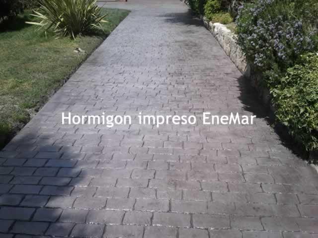 Hormigon impreso ciudad real hormigon pulido enemar for Hormigon impreso modelos