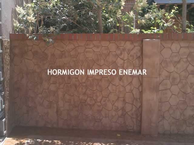 Hormigon impreso ciudad real hormigon pulido enemar for Productos para hormigon impreso